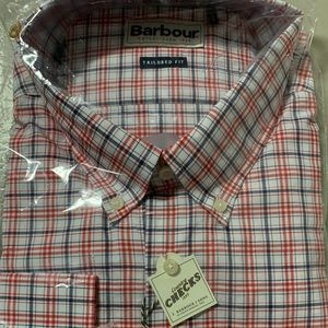 Barbour red shirt